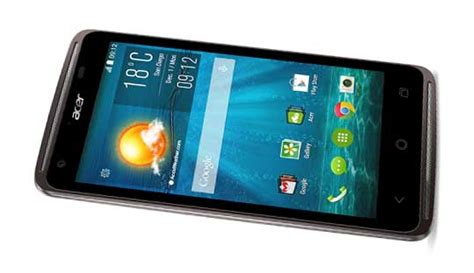 acer liquid z410 plus with 4 5 inch qhd display and 2gb ram
