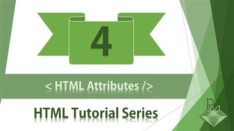 html tutorial lesson 4 html tutorial what is html attributes html attributes