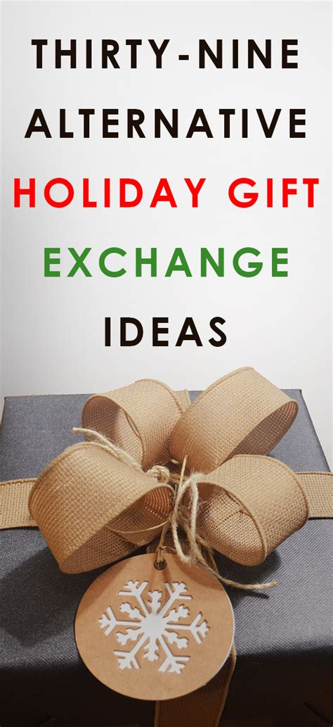 alternative holiday gift exchange ideas all gifts considered