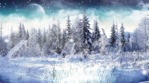 winter snow animated wallpaper http www desktopanimated