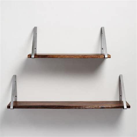 5 Foot Wall Shelf by 2 Ft Organic Edge Wood Mix Match Wall Shelf World Market