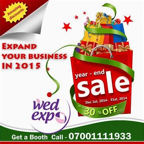 march 2015 edition of asoebi on wdn end of year grand sale on wed expo booths abuja ph lagos