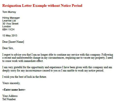 Acceptance Letter Notice Period the 25 best notice period ideas on exercise on period period workout and fitness