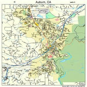 map of auburn california auburn california map 0603204