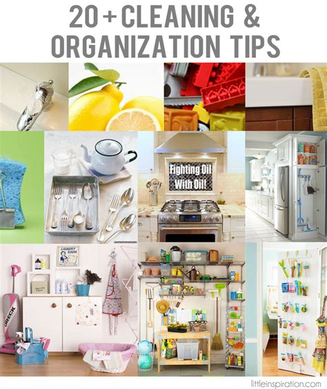cleaning inspiration 20 cleaning organization tips 187 little inspiration