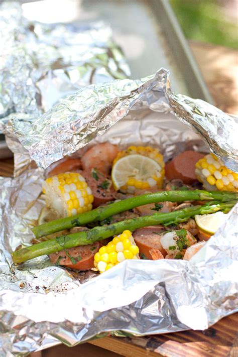 shrimp boil foil packets muy bueno cookbook