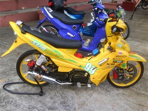 galeri foto gambar motor modifikasi jupiter  bagus