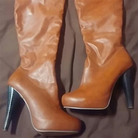 camel color boots camel color knee boots 10 from the s closet on poshmark