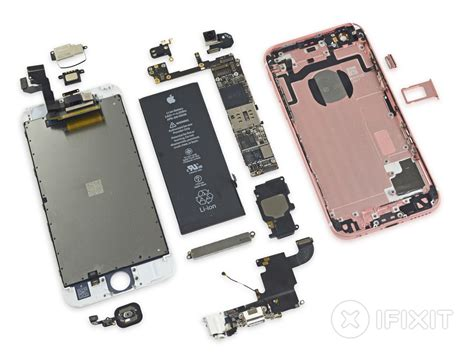 l iphone 6s d 233 mont 233 et taptic engine pass 233 aux rayons x igeneration