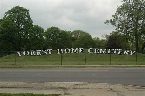 panoramio photo of forest home cemetery forest park il