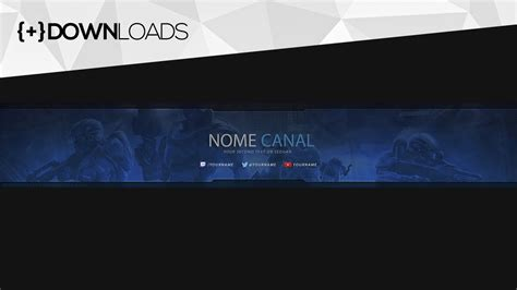 layout capa youtube download download capa para canais gamers do youtube gr 193 tis 2