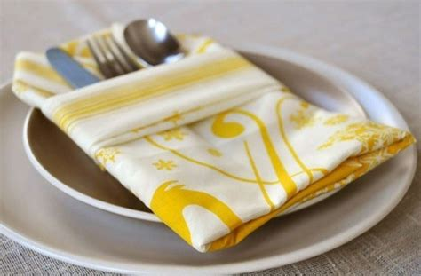 6 ridiculously simple napkin folding ideas you can t screw up photos huffpost uk