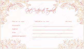 Free Gift Certificate Template by Gift Certificate Templates