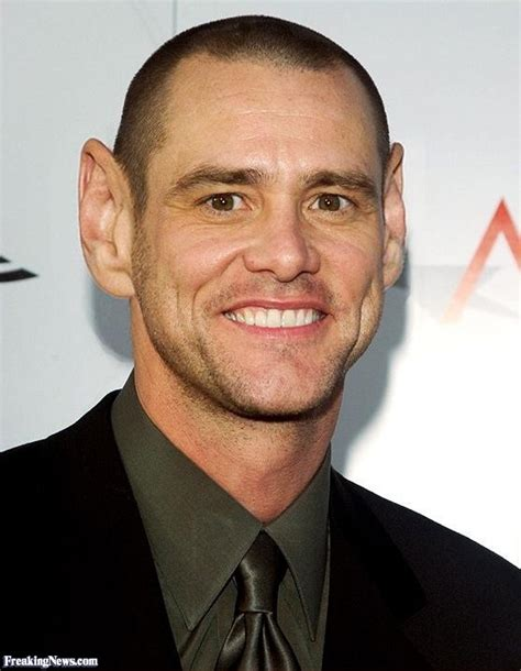 big ears and bald jim carrey with big ears pictures