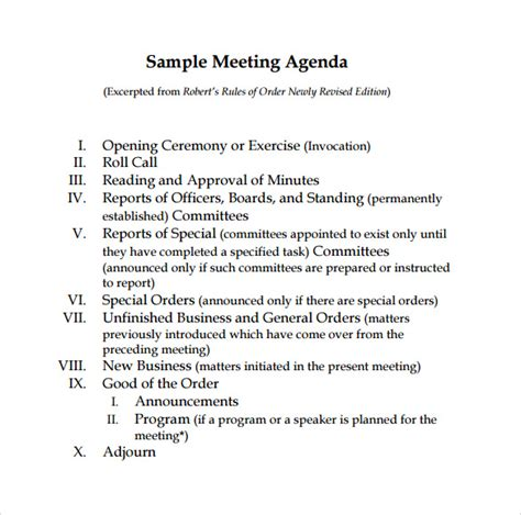 meeting agenda and meeting minutes templates youtube