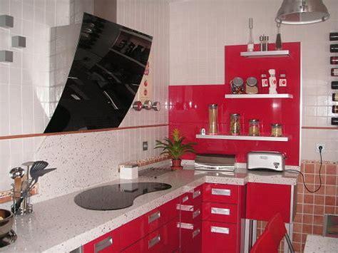 imagenes de cocinas integrales rojas las cocinas rojas decorar tu casa es facilisimo com