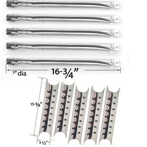 Gas L Replacement Parts by Grill Parts For Master Forge 5 Burner 3218lt 3218ltn