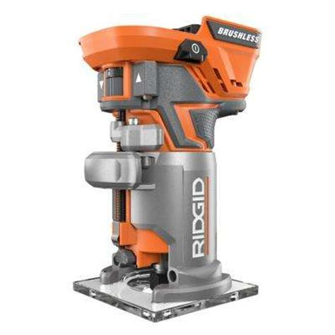 ridgid woodworking tools cordless routers routers the home depot