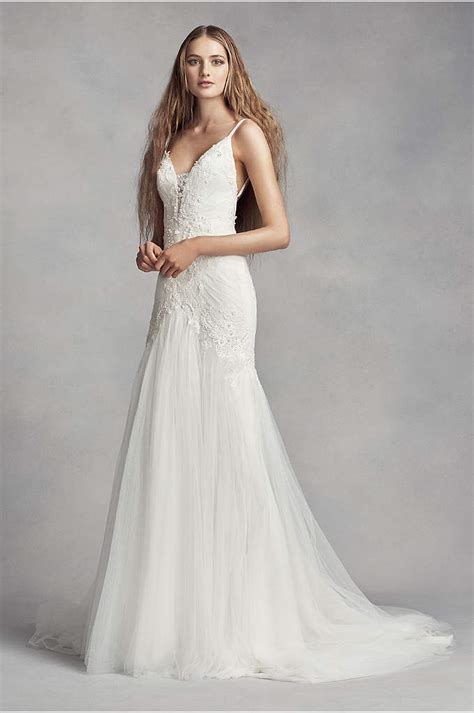 funky designer wedding dresses chiffon halter neck sheath wedding dress davids bridal