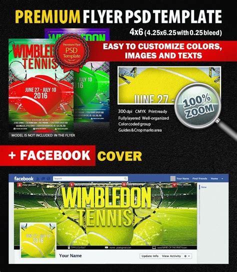 Tennis Wimbledon Psd Flyer Template 9016 Styleflyers Flyer Template Psd 2