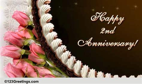 Happy Second Anniversary! Free Milestones eCards, Greeting
