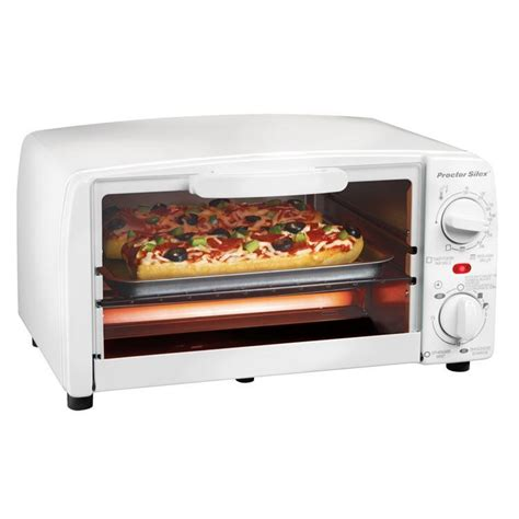 Toast R Oven Classic Countertop Ovenbroiler In White by Proctor Silex 31116r Electric Toaster Oven Broiler Toast
