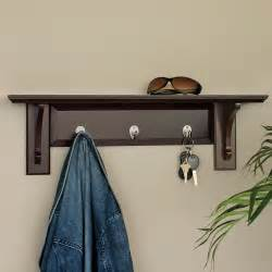 wall mounted coat rack with shelf home decorations