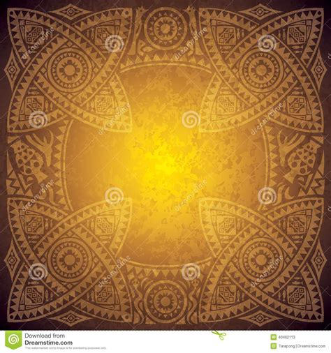 ancient background design template stock vector image