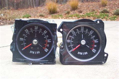 Almost Cluster Glossy Black Original Ca4816 reproduction gs tach modifications