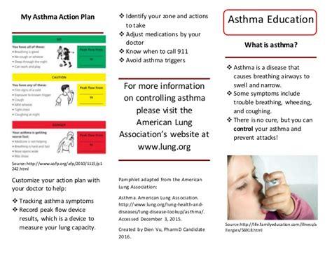 asthma flyer