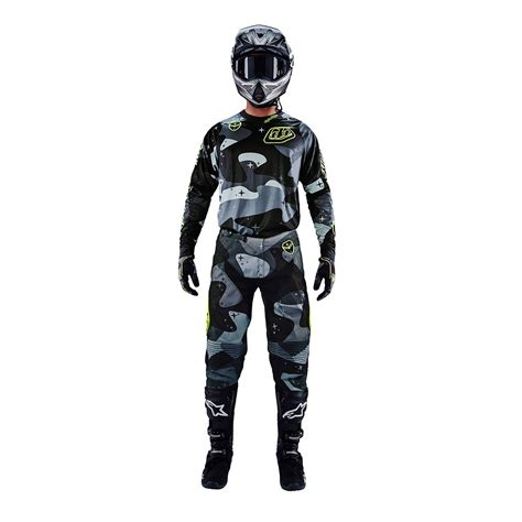 tld motocross gear troy designs 2016 tld mx se cosmic camo grey
