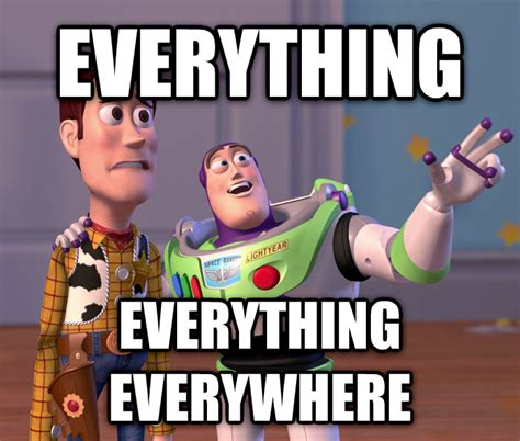 Buzz Lightyear Everywhere Meme Generator - livememe com toy story everywhere