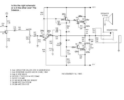 schematic fender sidekick wiper motor schematics elsavadorla