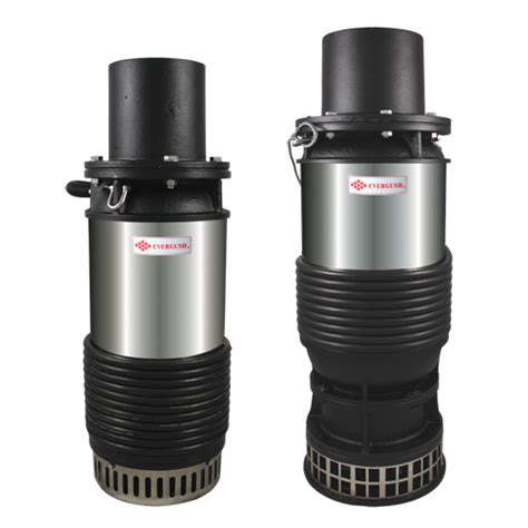 Pompa Submersible Axial Flow Exl Submersible Axial Flow Pumps Evergush