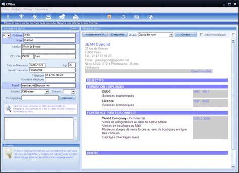 logiciel format eps gratuit resume format logiciel de cv gratuit a telecharger pour