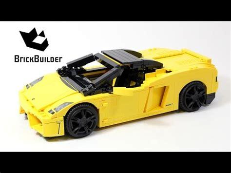 lego lamborghini gallardo lego racers 8169 lamborghini gallardo lego speed build