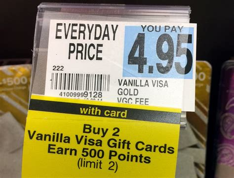 Apple Pay Visa Gift Card - purchase 2 vanilla visas receive 500 plenti points possibly pay with apple pay