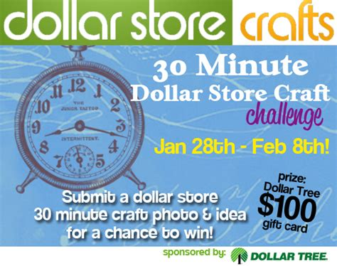 30 Dollar Gift Card - dollar store crafts blog archive challenge 30 minute dollar rachael edwards
