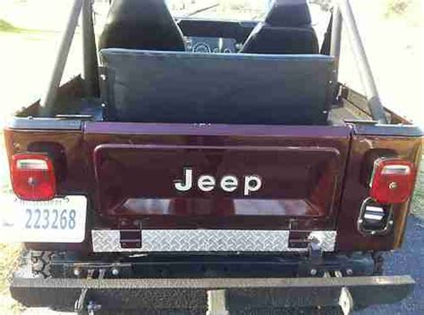 burgundy jeep purchase used jeep cj7 1979 burgundy great condition in