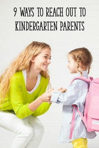 teaching how teachers and parents can reach their brains and hearts books 9 ways to reach out to kindergarten parents runners