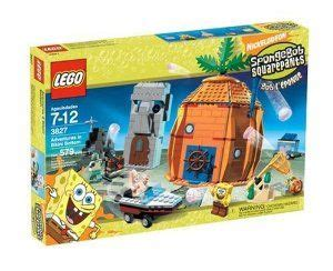 spongebob boat dog bed lego spongebob adventures at bikini bottom by lego 204