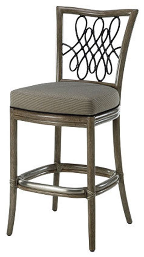 Script Counter Stools by Barbara Barry Script Counter Stool Eclectic Bar Stools