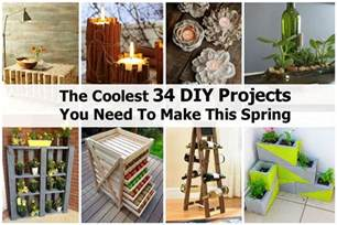 at home diys the coolest 34 diy projects you need to make this