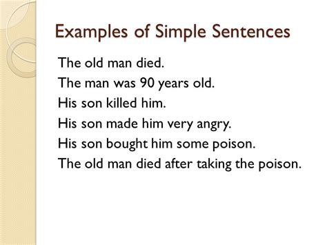 sentence template sentences in by yang ying janet chan ppt
