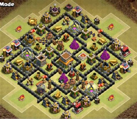 layout design th8 top 12 best th8 war base anti dragon 2017 september