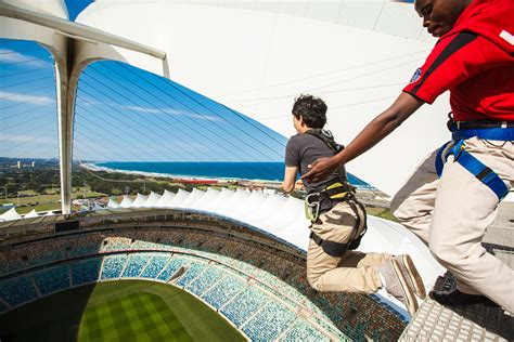 biggest swing big rush big swing moses mabhida stadium moses mabhida