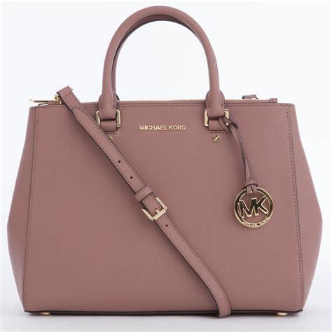 Sale Mk Sutton 5013 michael kors large sutton satchel handbag in dusty