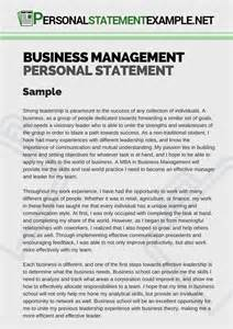 exle of a business business management personal statement exle personal statement exle