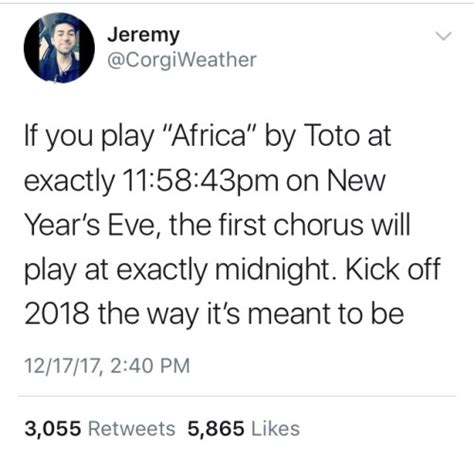 new year song play africa if you play this song on new year s