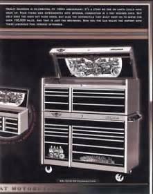 Snap On Tool Bench Harley Davidson 100th Anniversary Snap On Tool Box New Ebay